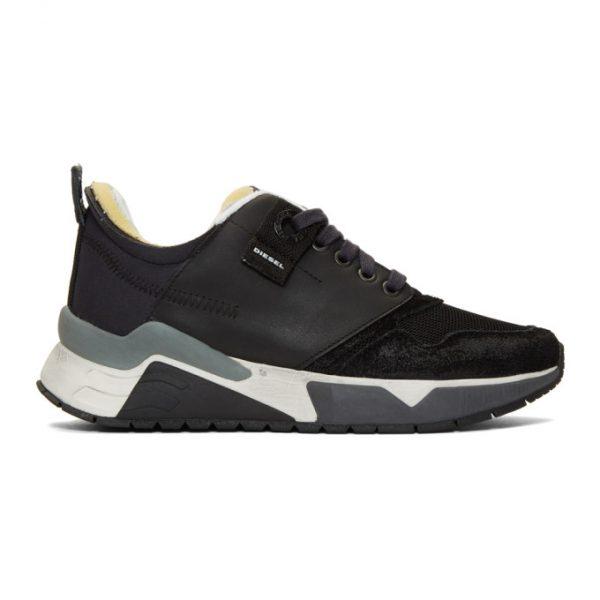 Diesel Black S-Brentha Sneakers