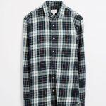 Flannel Tartan Shirt - Green