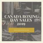 canada boxing day sales 2019