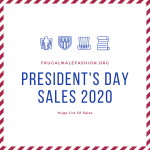 President's Day Sales 2020