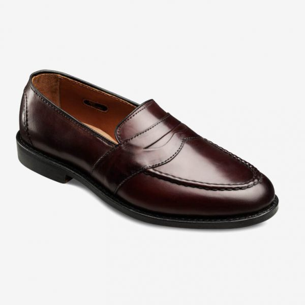 Factory 2nd - Randolph Shell Cordovan Penny Loafers