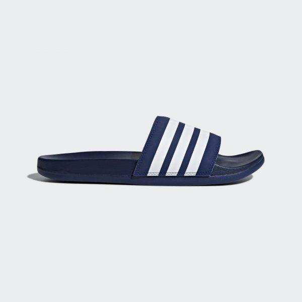 adidas Adilette Comfort Slides Dark Blue 4 Mens